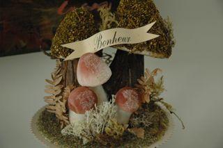 WA Large Mushroom Vignette