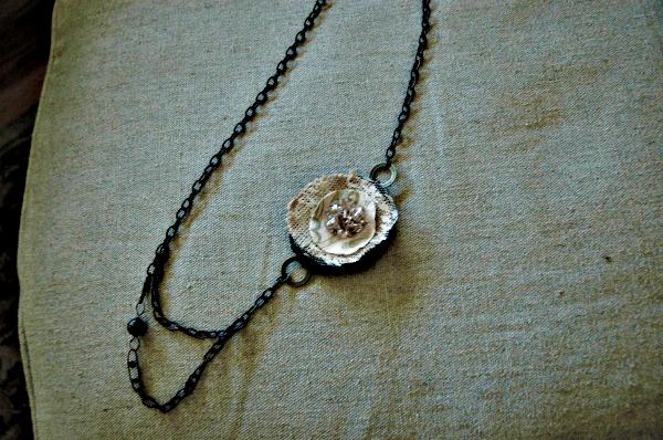 Flower on chain