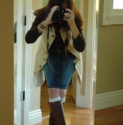 Jean skirt 2