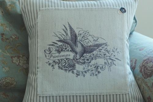 Printemps pillow cover large