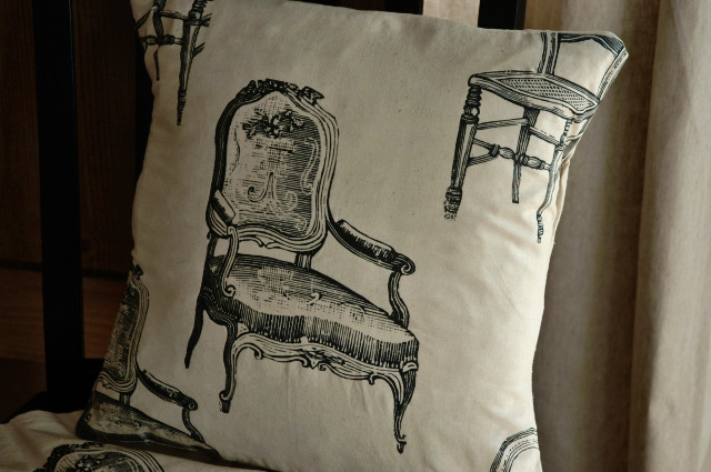 Chair pillow cover