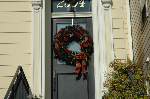 SF Door Wreath